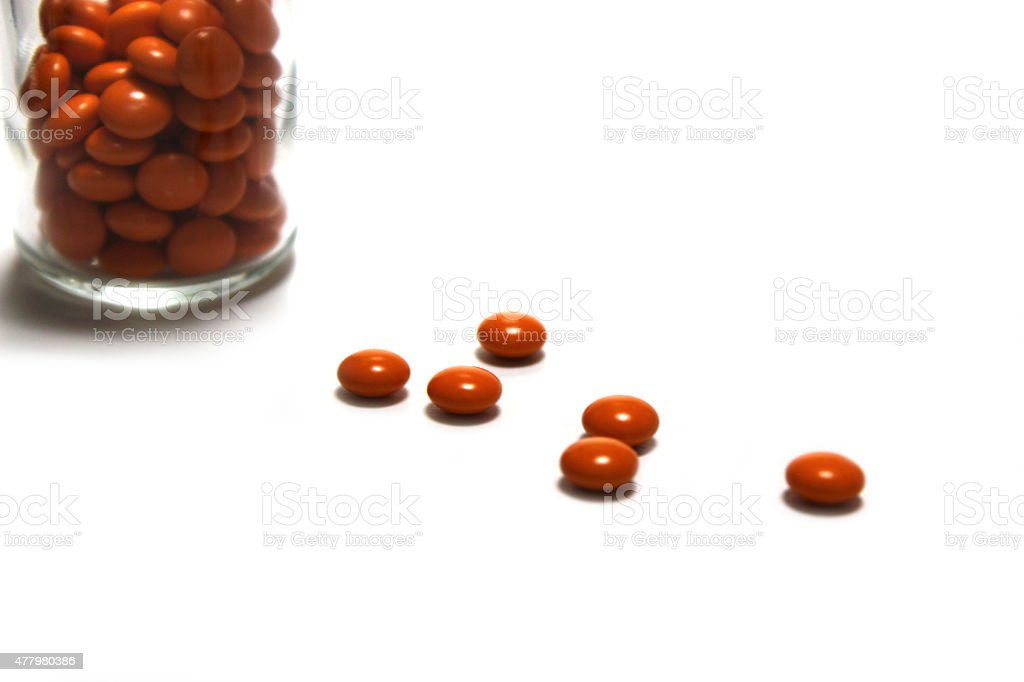 Supplements stock photo