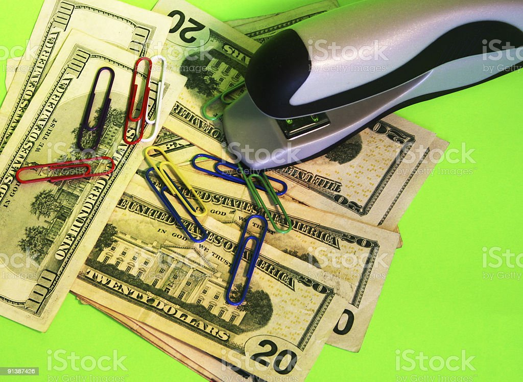 Supplies Eating up the Profits royalty-free stock photo