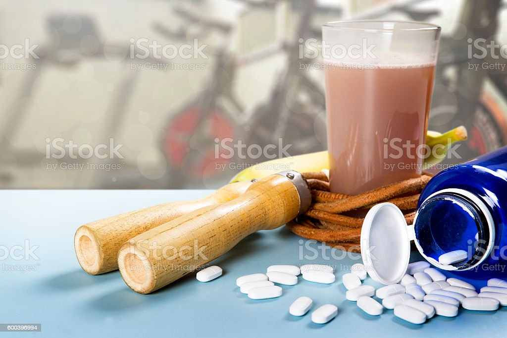 Supply and integration for Sport stock photo