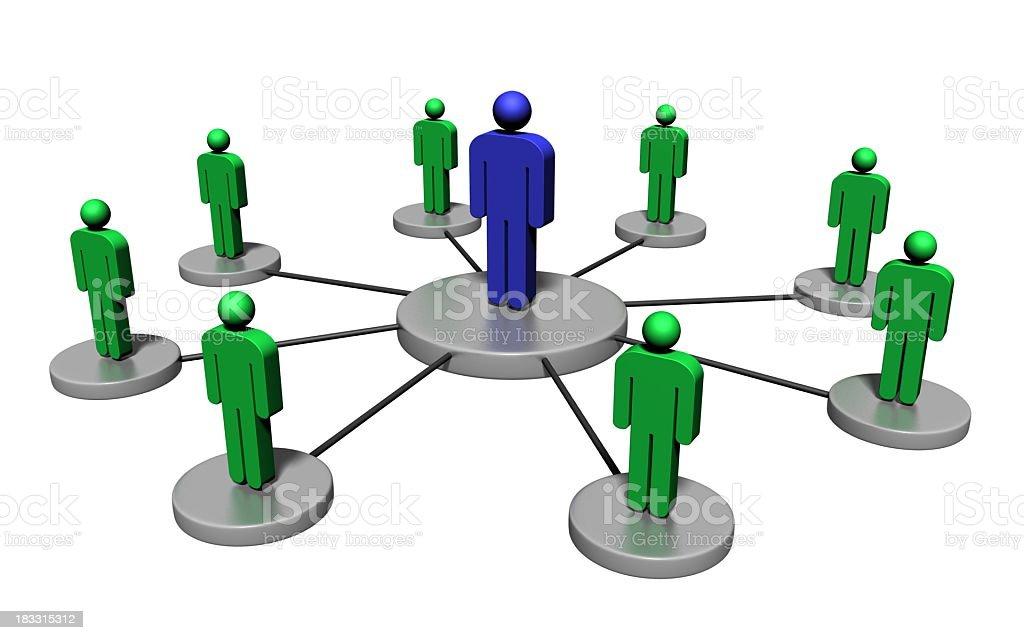 Supply chain distribution visualization (2) royalty-free stock photo