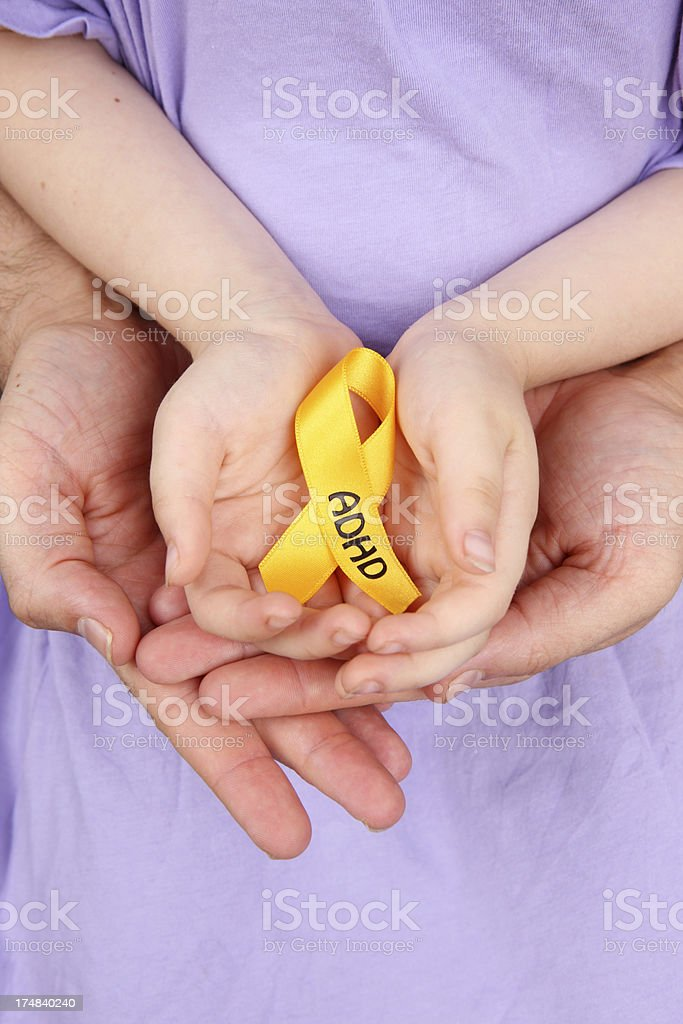 ADHD Support for Children royalty-free stock photo