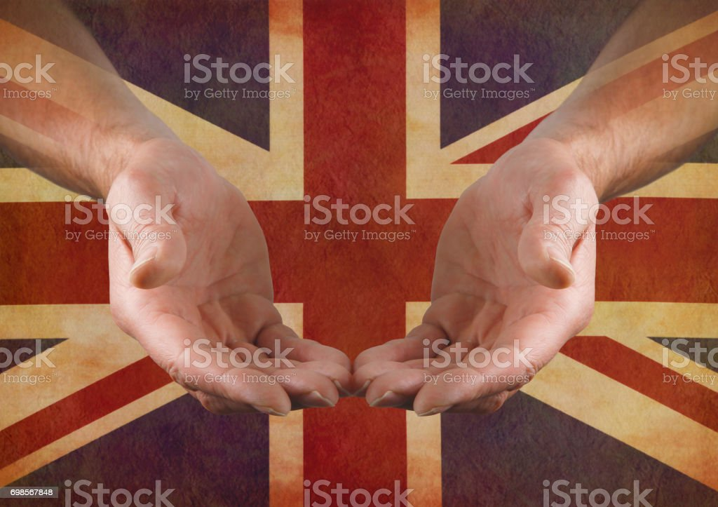 Support Great Britain stock photo