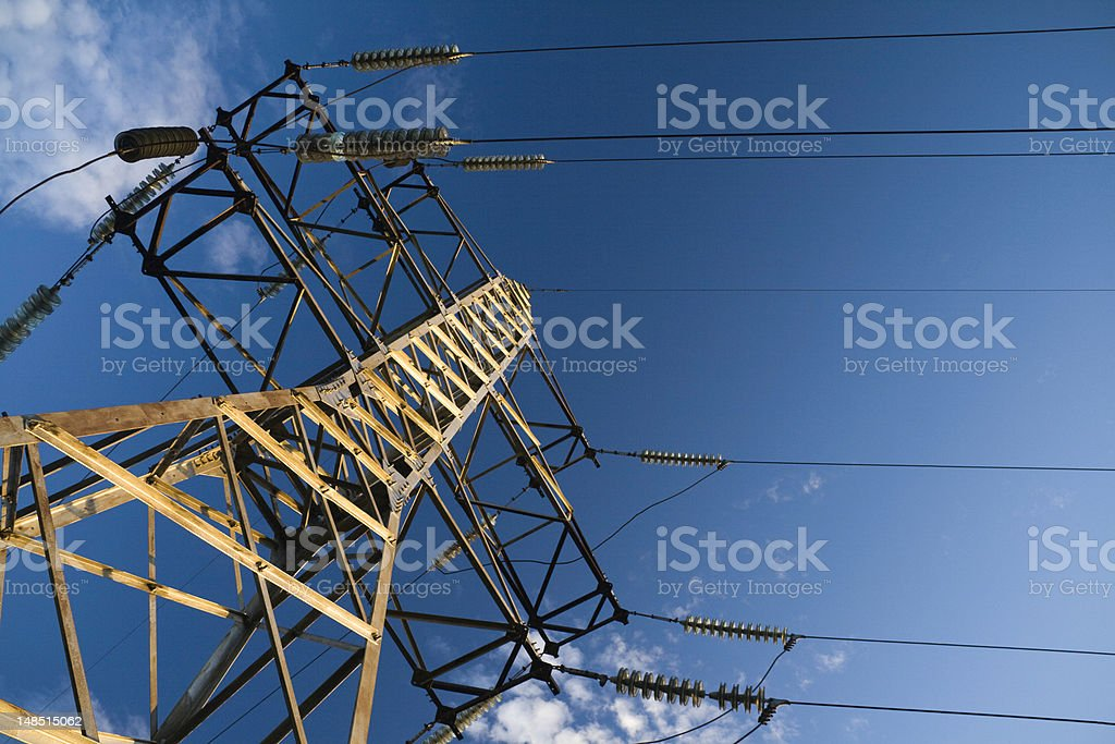 Support of line. stock photo