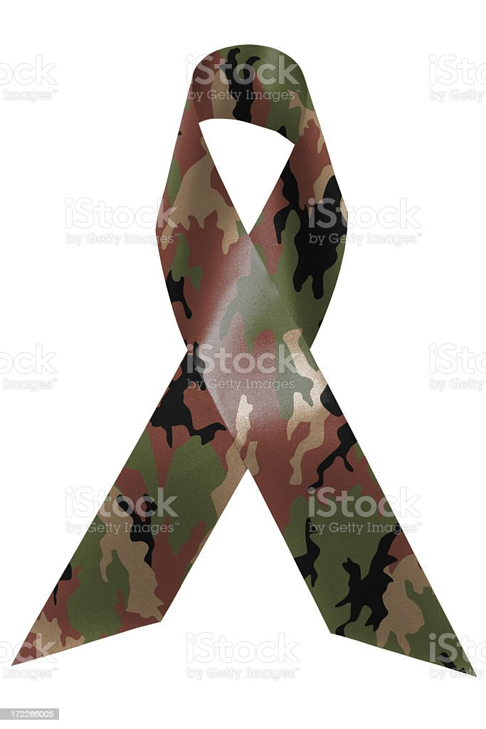 Support our troops awareness stock photo