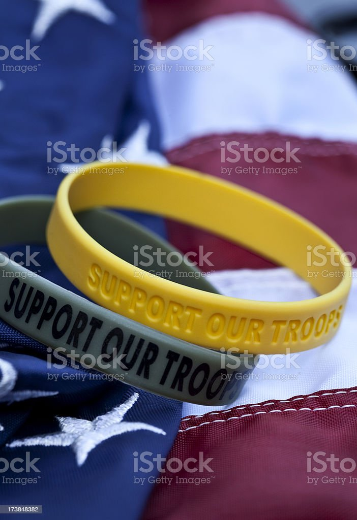 Support Our Troops stock photo