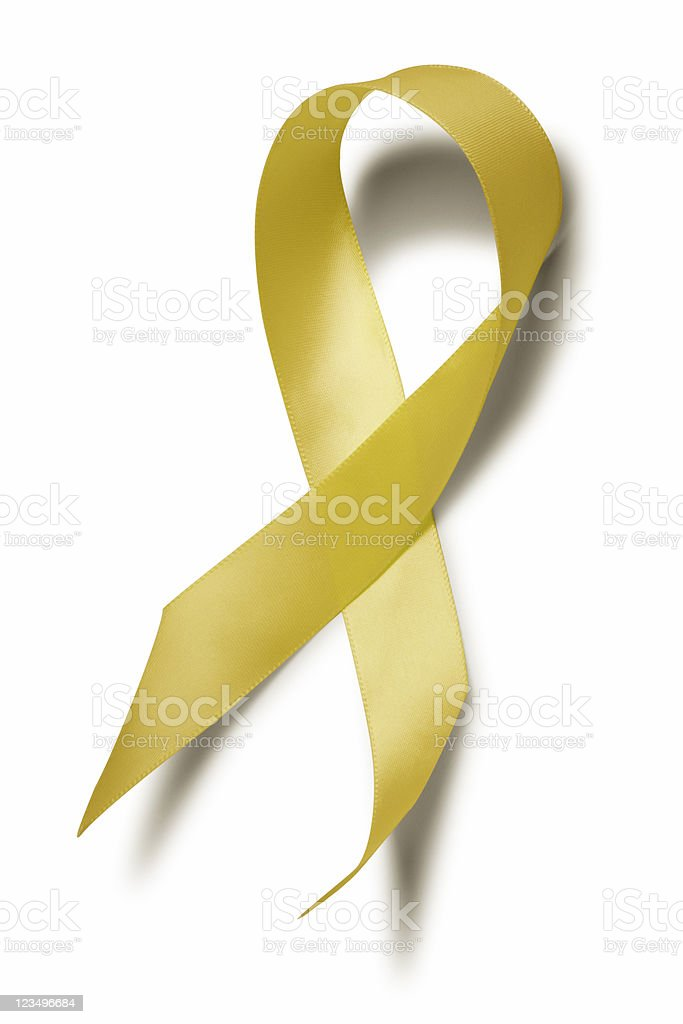 support our troops ribbon royalty-free stock photo