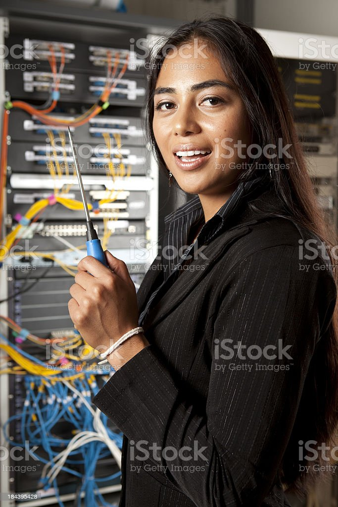 IT Support royalty-free stock photo