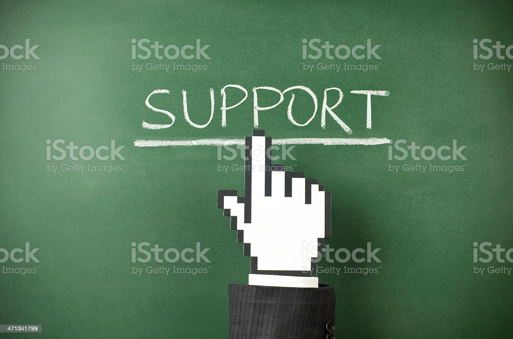 support royalty-free stock photo