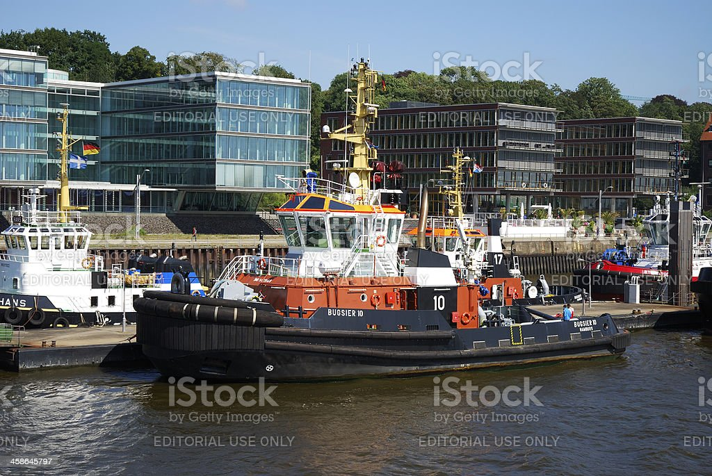 Support ship stock photo