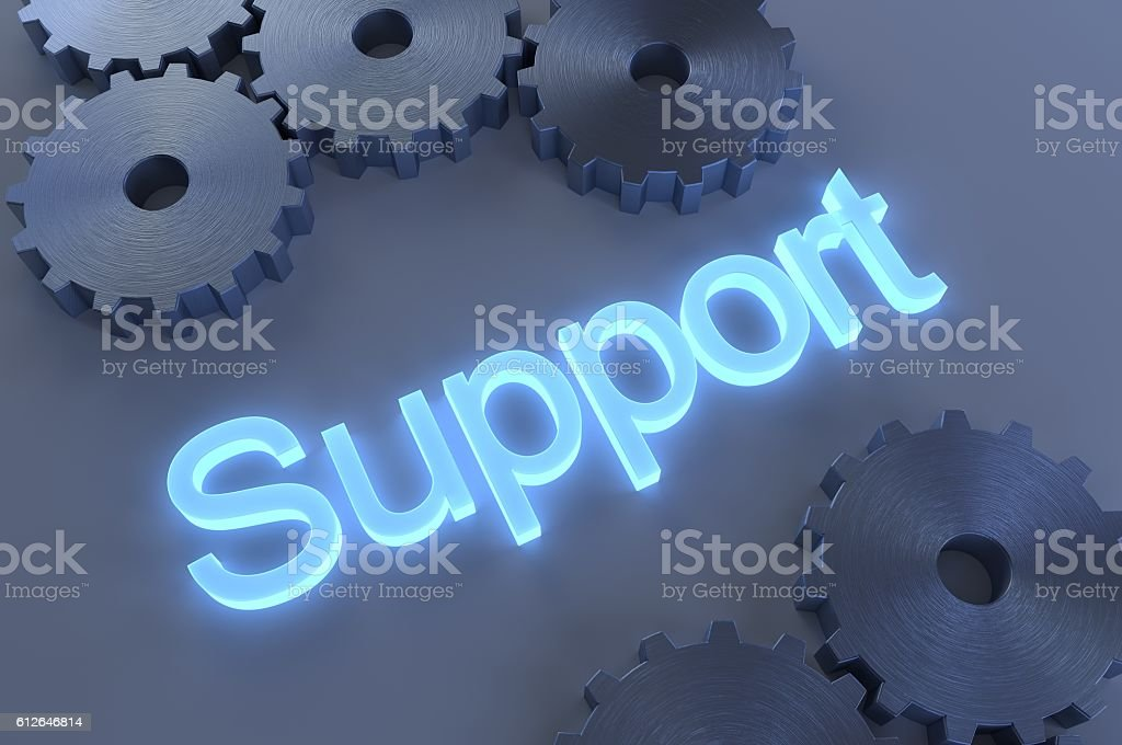 Support System stock photo