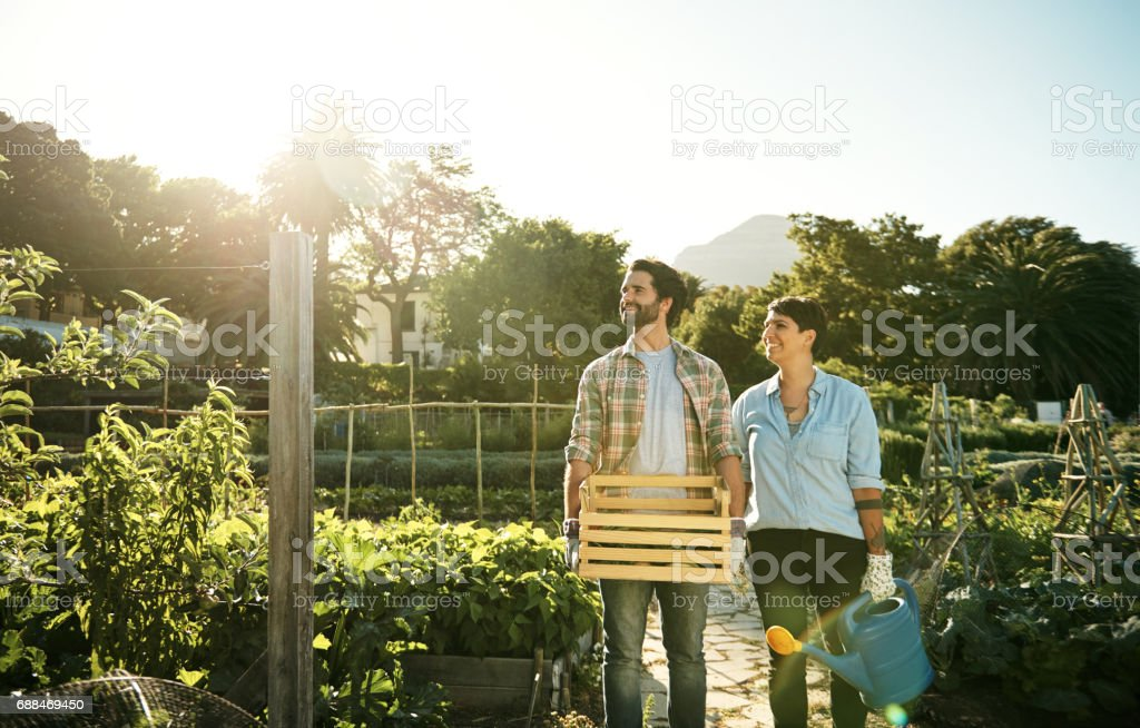 Support the earth, and it will return the favour stock photo