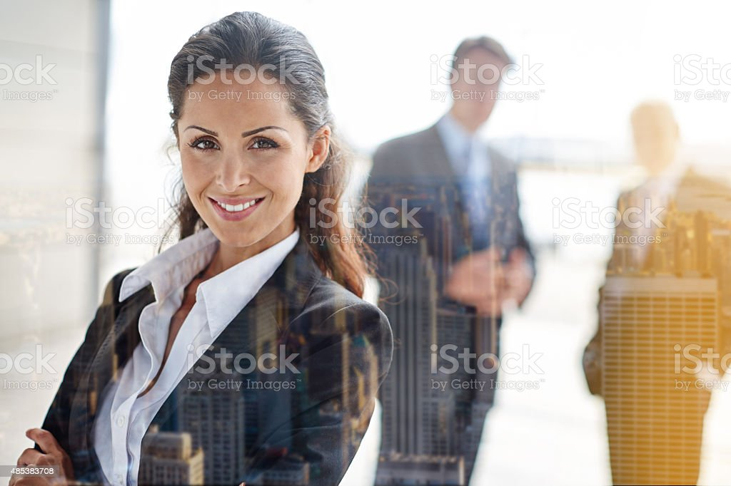 Supported by an incredible team stock photo
