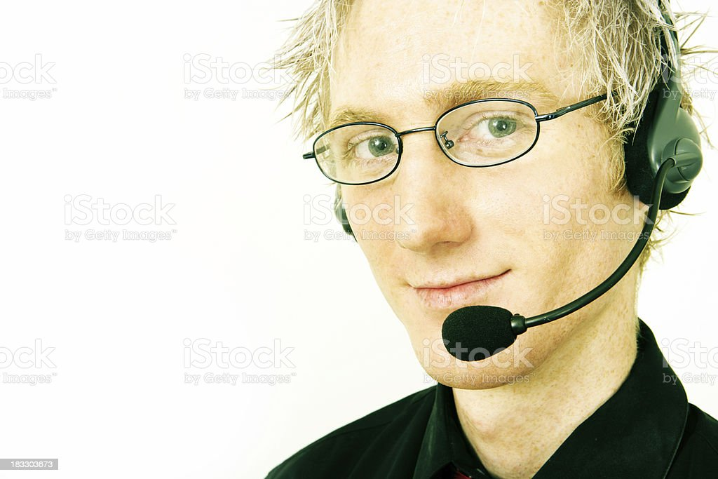 Supportive Help royalty-free stock photo