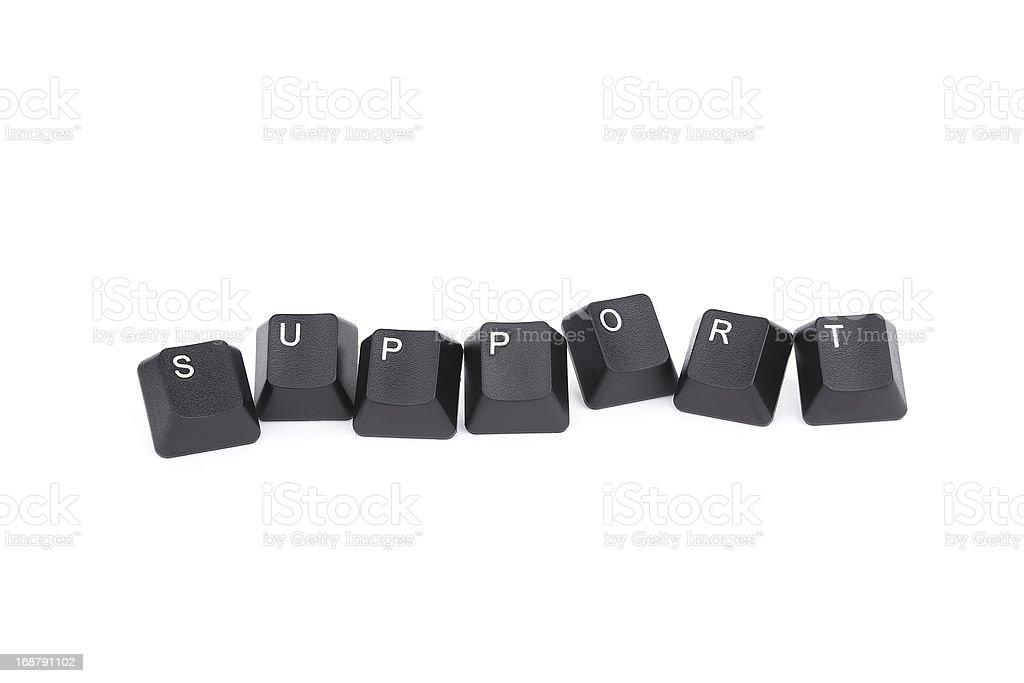 support:keyboard key royalty-free stock photo