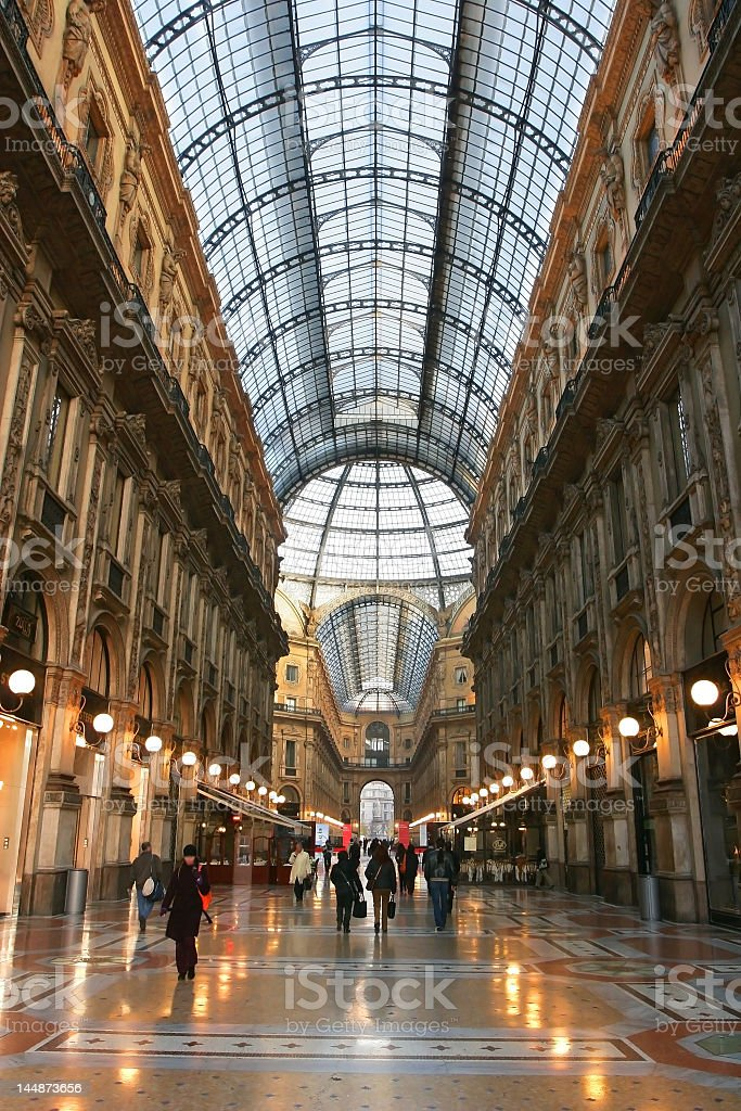 Supposedly the first shopping mall ever built royalty-free stock photo