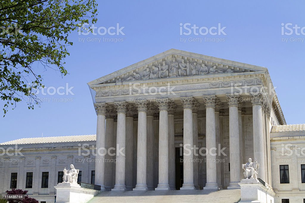 USA Supreme Court Building stock photo