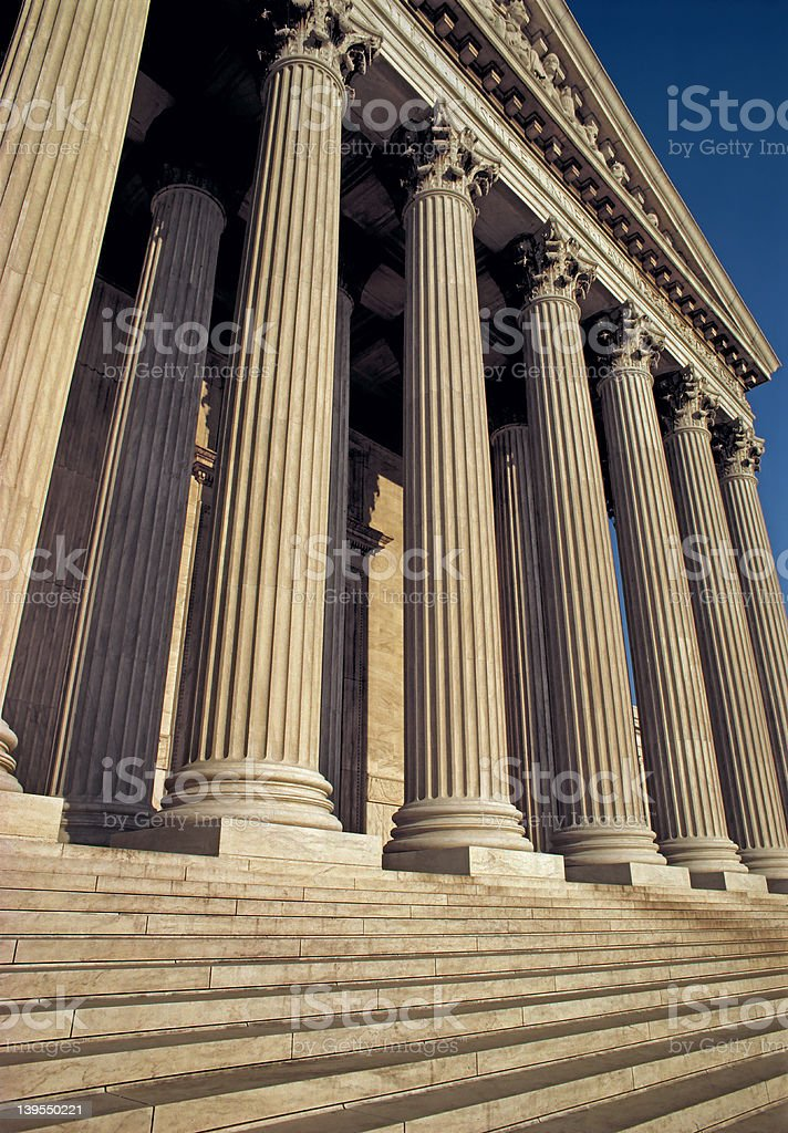 Supreme Court Building royalty-free stock photo
