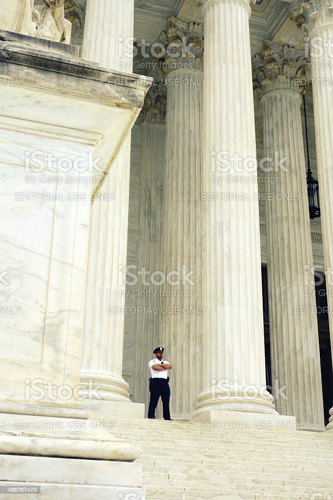 Supreme Court Building stock photo