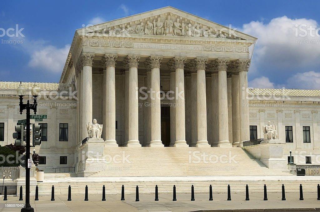 Supreme Court Building ,Washington stock photo
