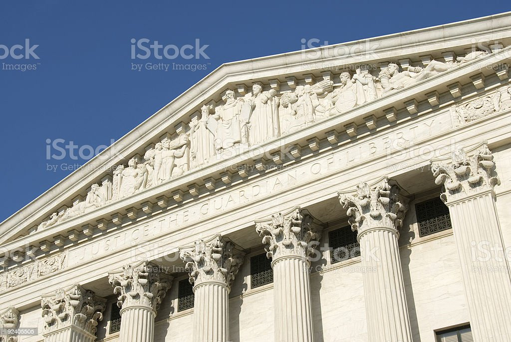 US Supreme Court - Justice royalty-free stock photo