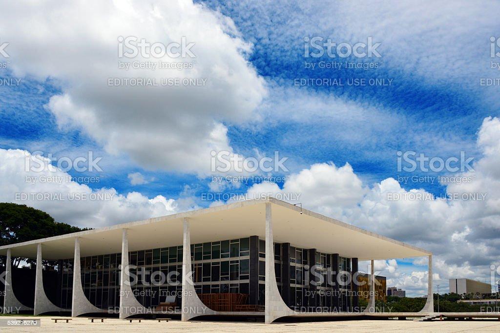 Supreme Court of Brazil, Brasilia stock photo