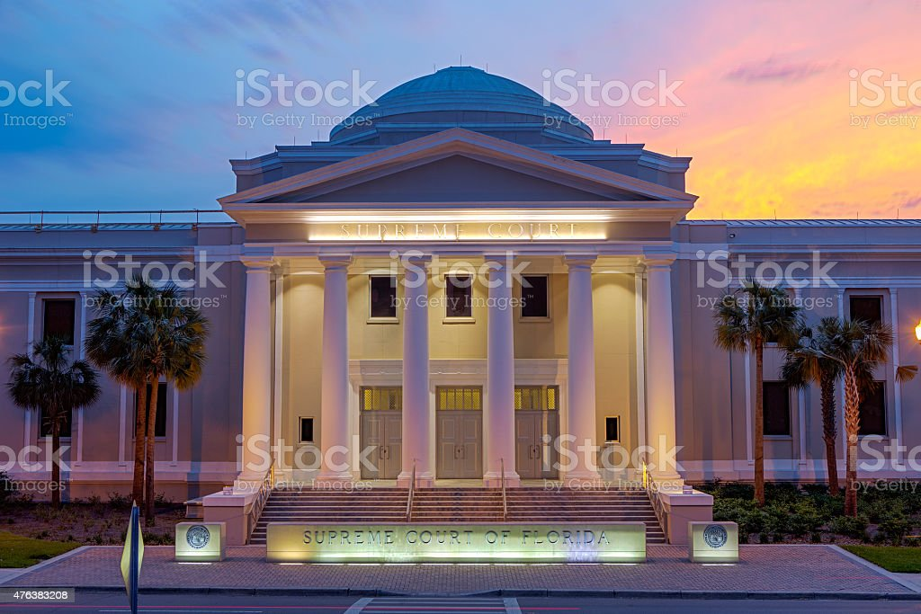 Supreme Court Of Florida, USA stock photo