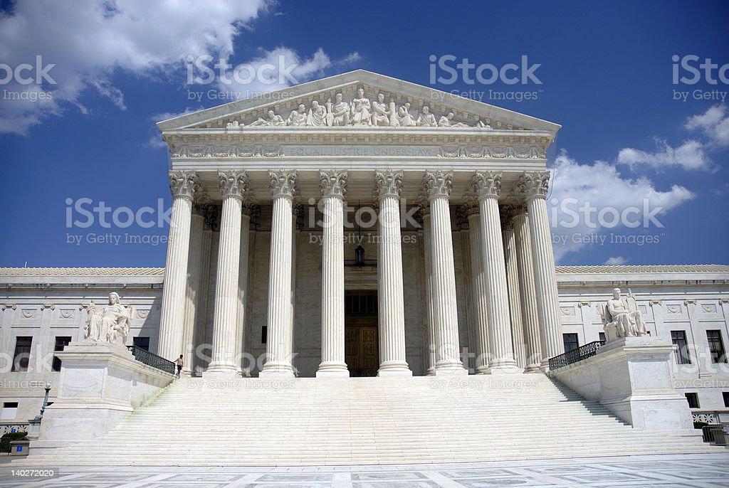 US Supreme Court stock photo