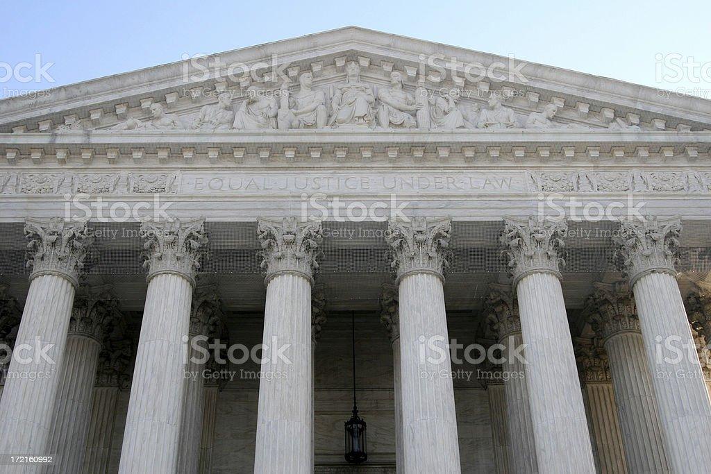 U.S. Supreme Court royalty-free stock photo