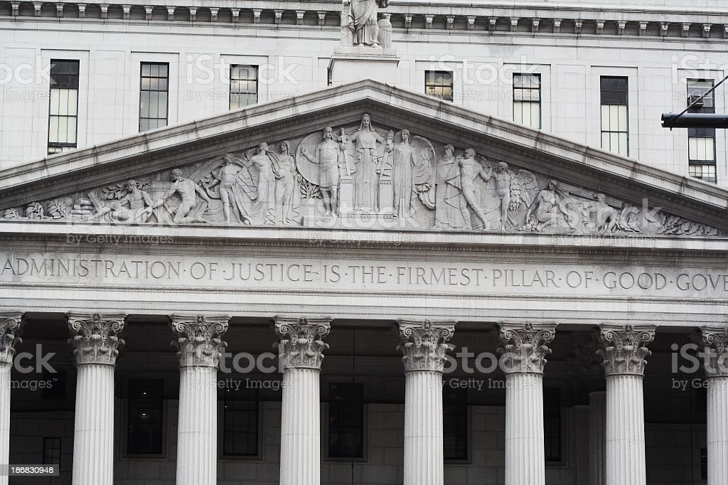 NY Supreme Court stock photo