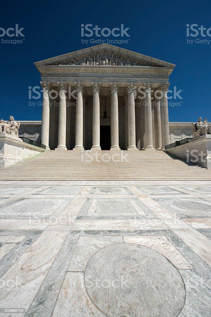 US Supreme Court Vertical stock photo