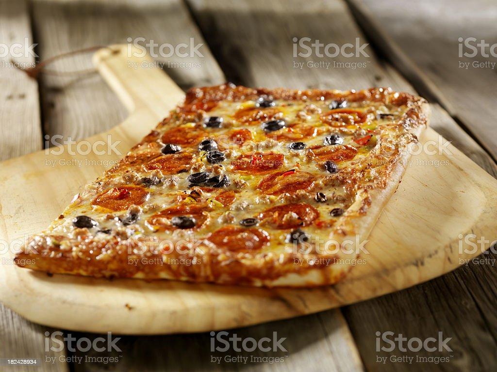 Supreme Pizza royalty-free stock photo