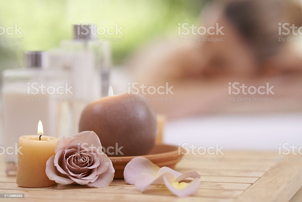 Supreme relaxation stock photo