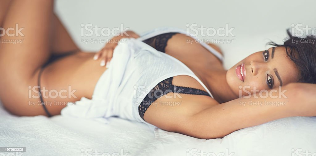 Supremely sensual stock photo