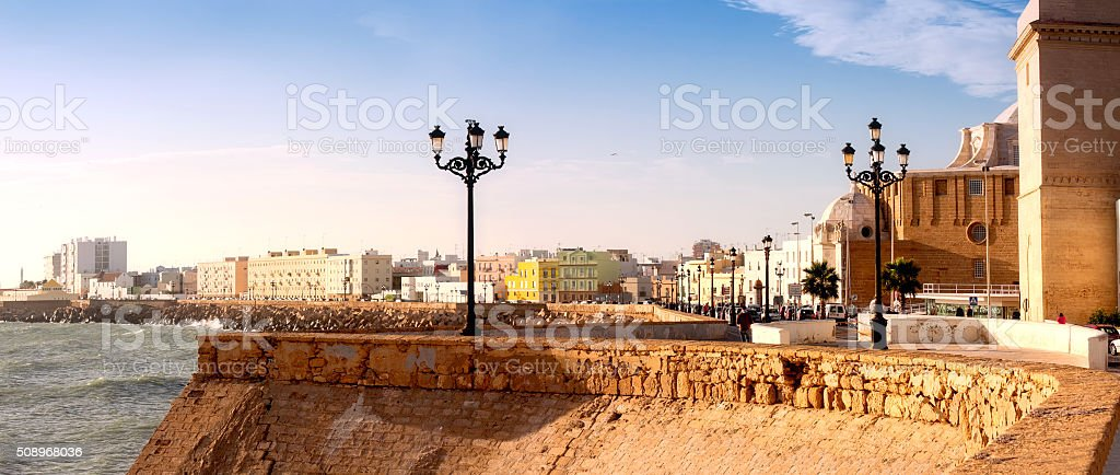 Campo del sur in Cadiz. Andalusia stock photo