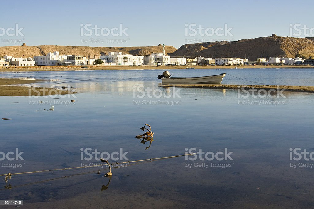 Sur in Oman royalty-free stock photo