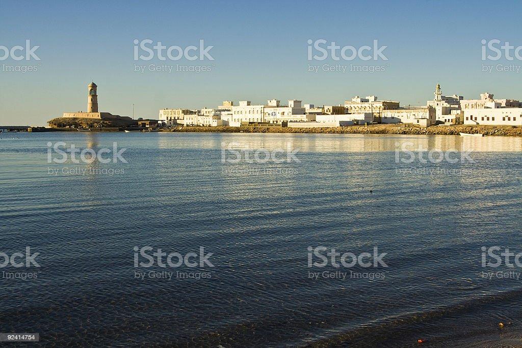 Sur in Oman stock photo