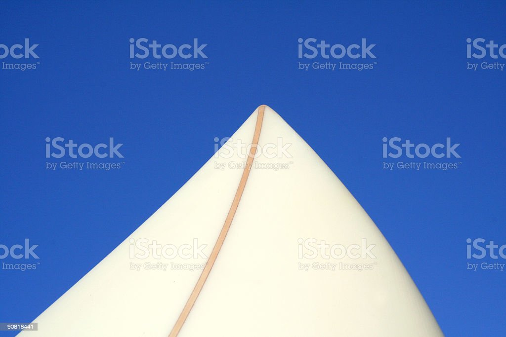 surboard nose royalty-free stock photo