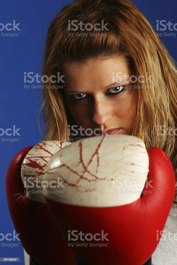 Sure you want to fight me? royalty-free stock photo