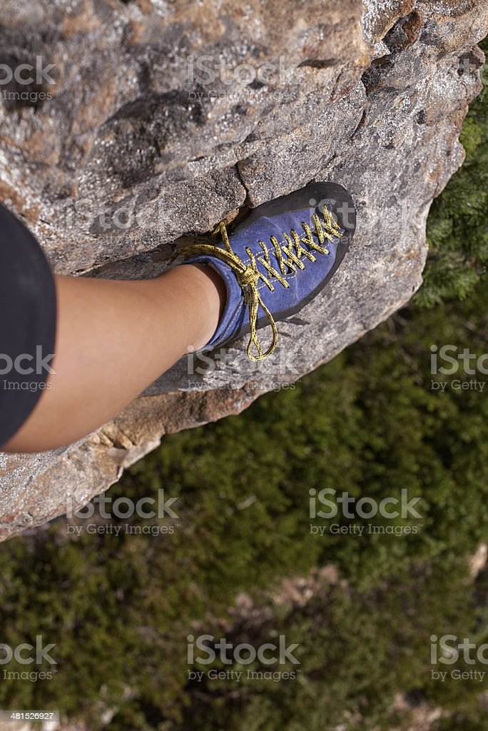 Sure-footedness royalty-free stock photo