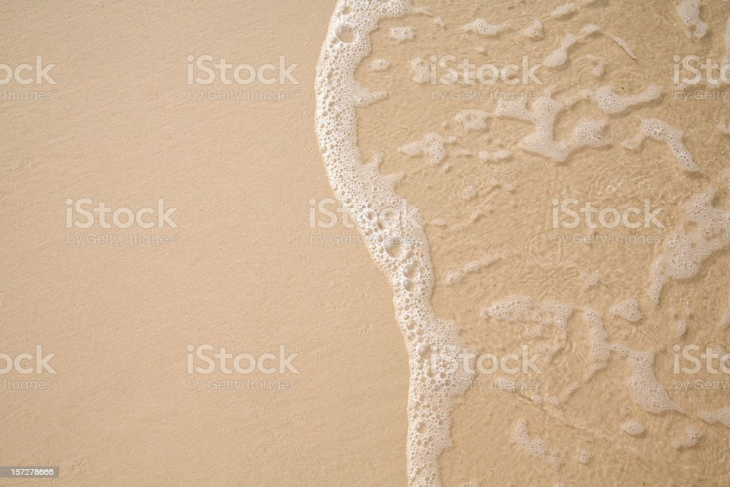 Surf and Sand stock photo