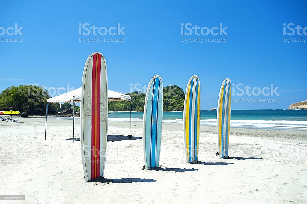 Surf and sea stock photo