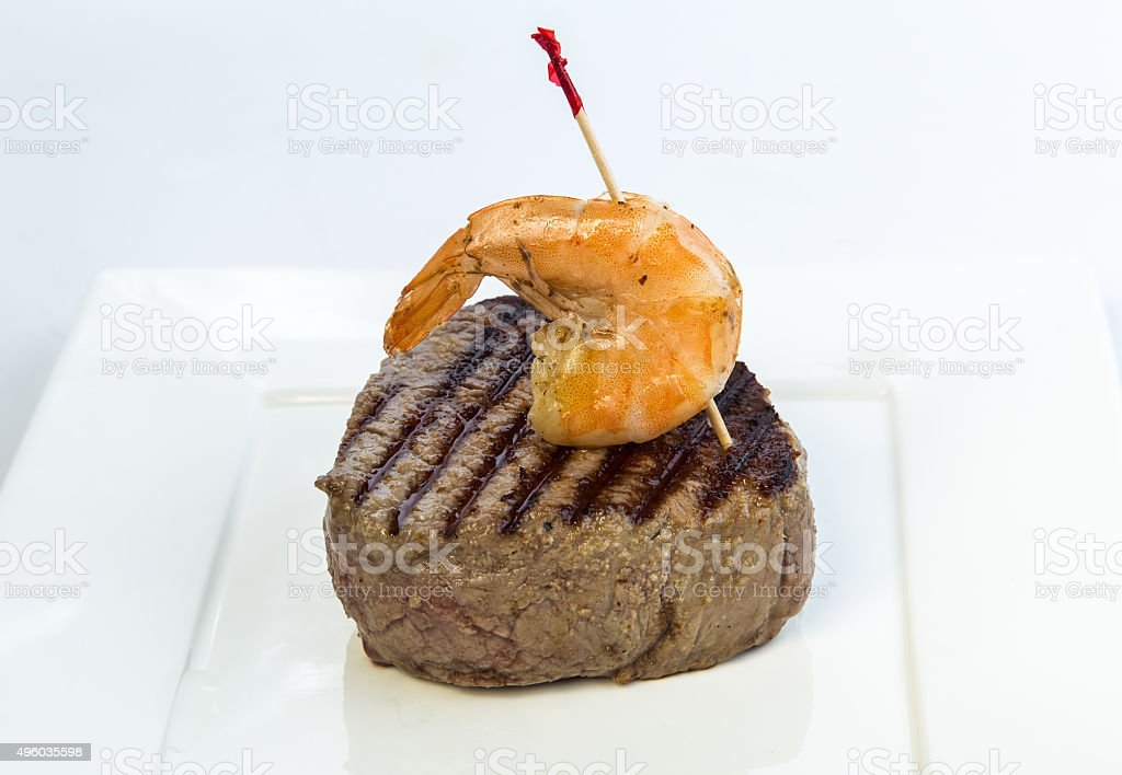 Surf and Turf 2 stock photo