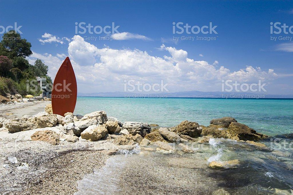 surf beach royalty-free stock photo