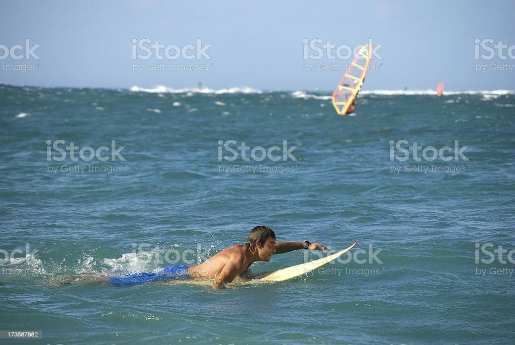 Surf Boy royalty-free stock photo