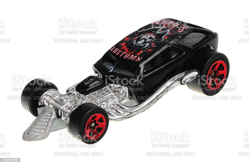1999 Surf Crate Hot Wheels Diecast Toy Car stock photo