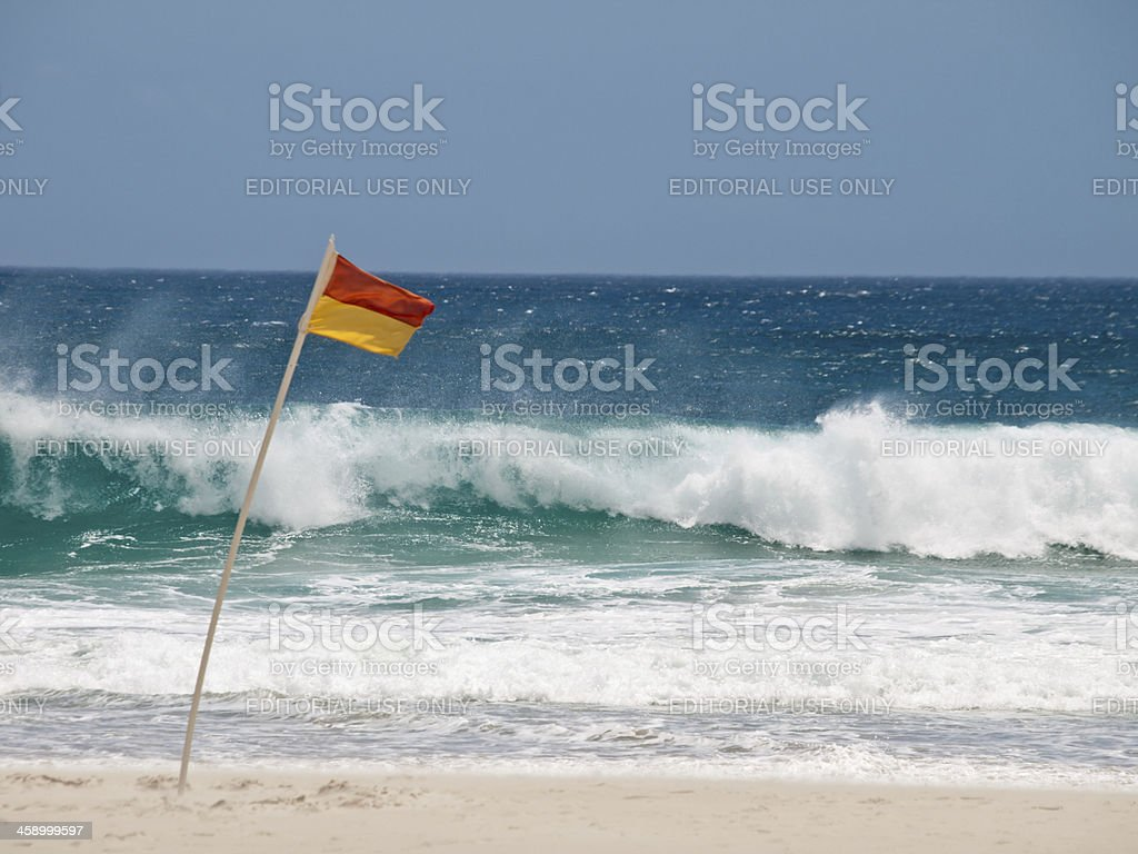 Surf Flag royalty-free stock photo