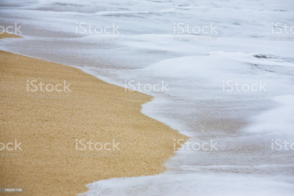 Surf Foam royalty-free stock photo