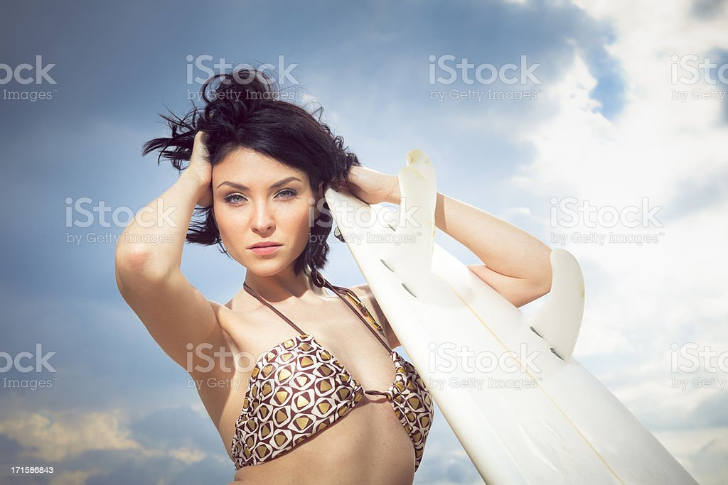 surf goddess royalty-free stock photo