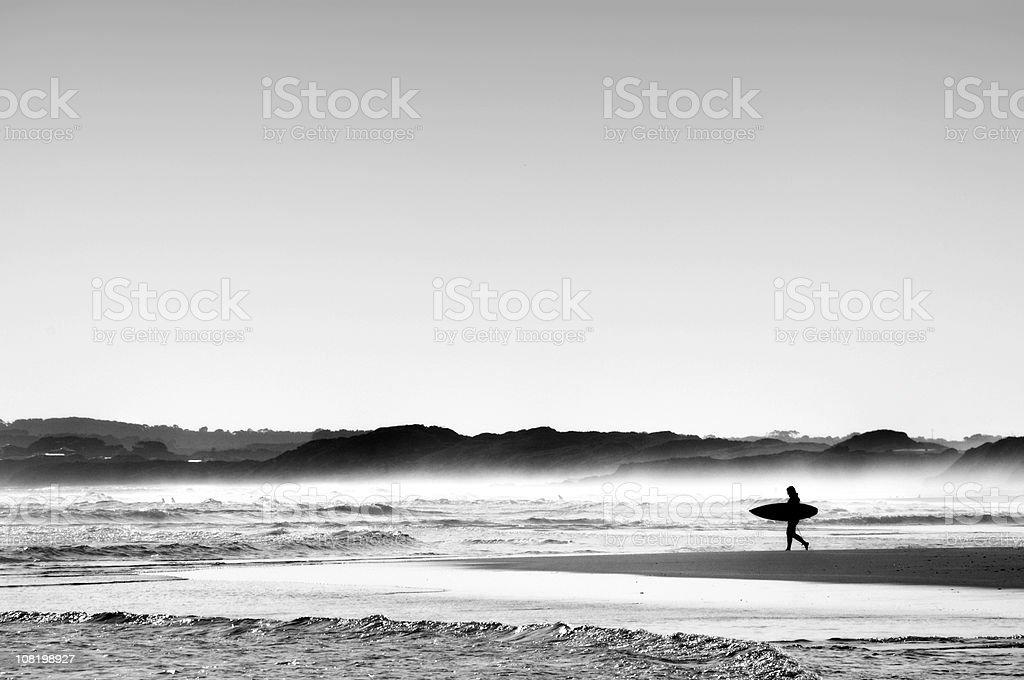 Surf Horizon stock photo