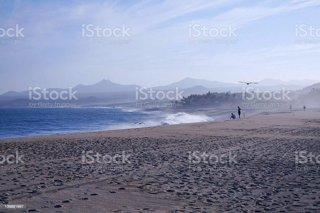 Surf in Mexico stock photo